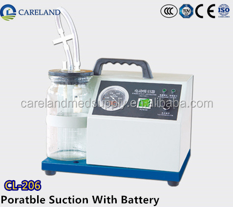 Medical Portable Suction Machine/Unit/Pump for Emergency