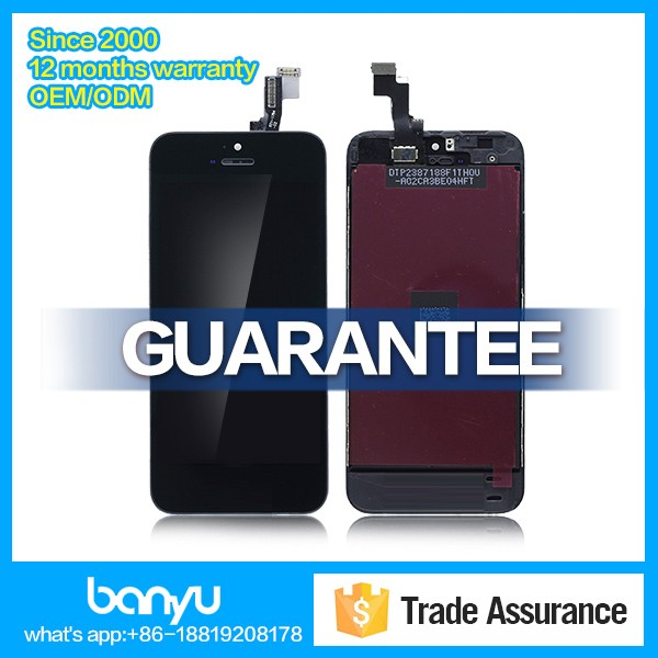 Original alibaba china lcd digitizer assembly display for apple iphone 5s