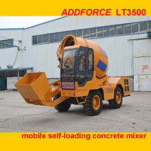 Famous Self Loading Concrete Mixer Truck 4x4 Cement Mixer truck machine
