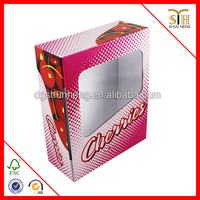 Fresh apple fruit packaging boxes Corrugated plastic packaging box for fruit