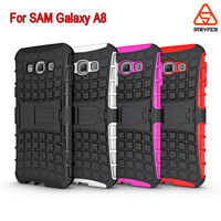 New Arrival Ultra back cover For Samsung Galaxy A8 Shockproof stand rubberized holster armour cover