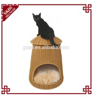 S&D Custom-made classic luxury quality control plastic dog cribs cat house