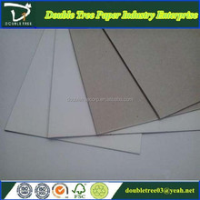 Top Quality paper products/Mill Supply Duplex Board Grey Back