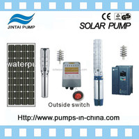 6 inches solar water pump for agriculture, solar water pump irrigation