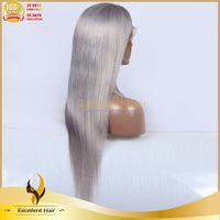 Funny Black People Blonde Curly Human Hair Lace Front Wigs