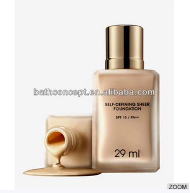OEM Cosmetics Waterproof Sunscreen Liquid foundation