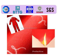 Woven fabric fire proof water and heat resistant fabric to make frock