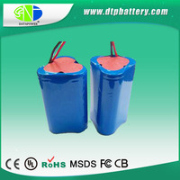 Shenzhen manufacturer rechargeable battery 7.4V 2S 18650 pack ,11.1V 2600mAh battery pack