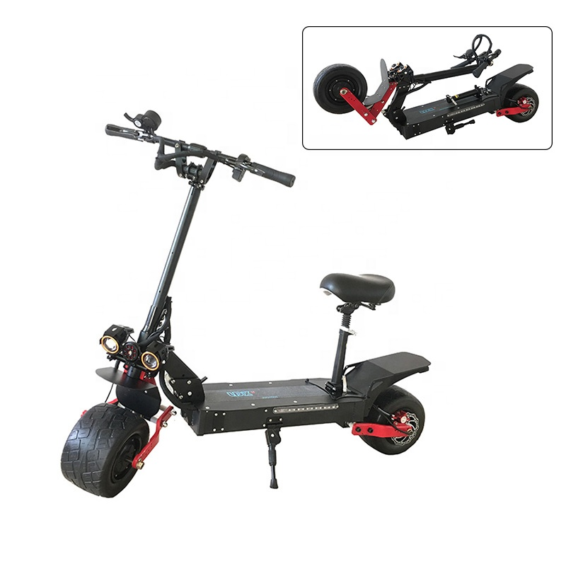2019 New Model Factory Price 60V 3200W <strong>Electric</strong> Powered 2 Wheel Mobility Foldable Adult Wide Wheels <strong>Electric</strong> Scooter