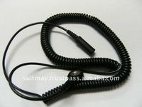 Earth Grounding Cord ESD Coil Cord