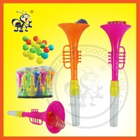 2016 HAPPY BLOW TRUMPET CANDY TOY/HORN TOY WITH CANDY