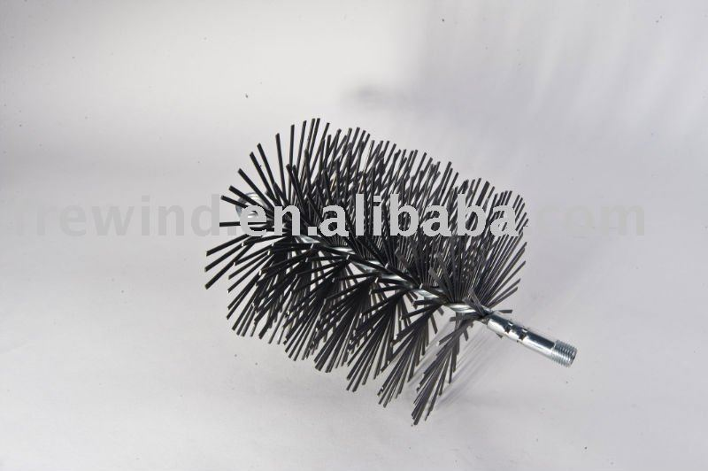Flat steel wire chimney brush,made in China