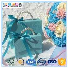 Made In China Small Bag Shape Designed Wedding Candy Gift Paper Box With Handle