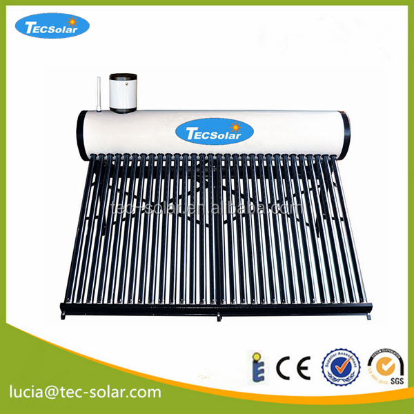Solar hot water heater low pressure open loop Vaccum Tube Evacuated tube solar water system for solar water heater