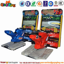 Qingfeng multifunctional useful chinese cheap motor racing game machine in Guangzhou