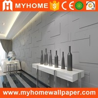 school decorations building material fireproof 3d wall decor panels plastic wall paneling