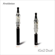 New safety products mistic electronic cigarette iGo2 dual 900 puffs&1300 puffs electronic cigarette malaysia