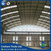 COSHARE Exquisite Workmanship Various Specification steel structure canopy