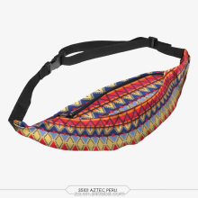 High quality cheap price ladies fashion printed Aztec waist pack
