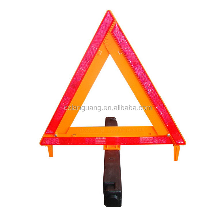 Top level hot sell warning triangle distance from car