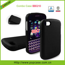 pc silicon hybrid phone case for blackberry Q10
