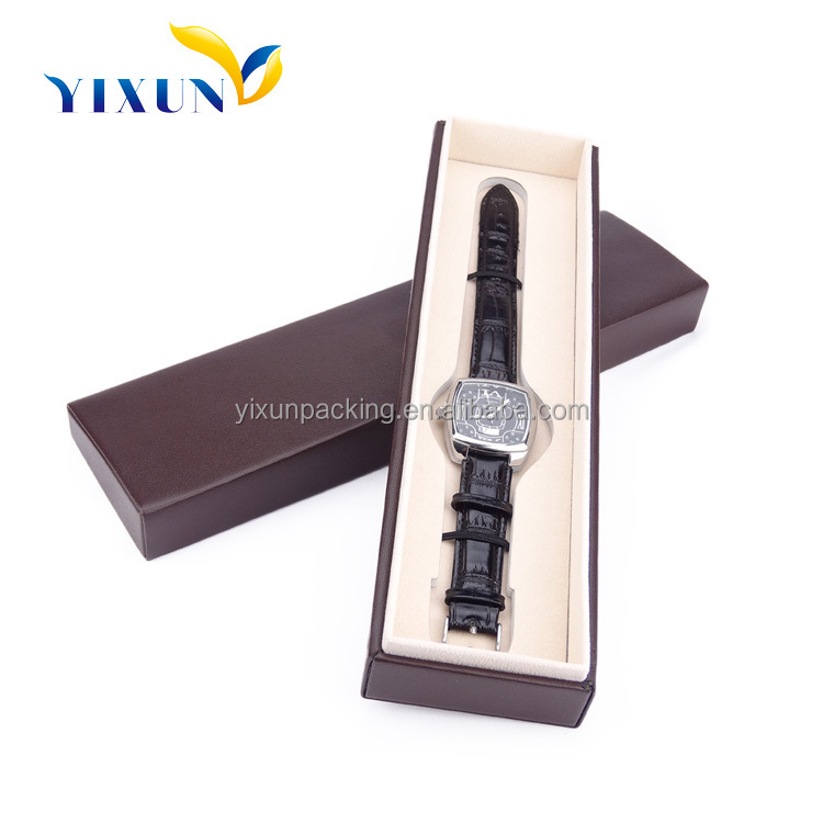 China shenzhen factory Custom Promotion Leather Paper Watch Gift Box