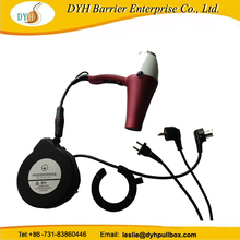 Samll power cable reel 5m retractable for hair dryer