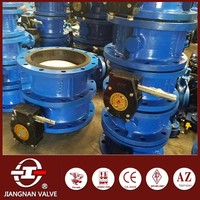 API598 Gearbox Gg25 Butterfly Valve Water