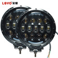 "New 7"" 105W Hi/Lo beam Ancillary led work lamp round 7inch led driving lights 4x4 truck offroad led work light for Jeep"