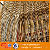 Decorative metal mesh curtain fabric, metal drapery