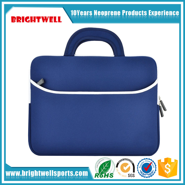 "Portable 15.6"" neoprene laptop sleeve case for men"