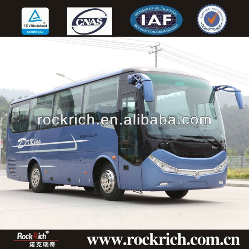 33 Seats Dongfeng Medium-sized Luxury Tour Bus Sale