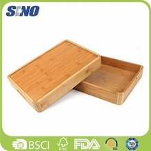 Eco-friendly wholesale bamboo restaurant coffee cocktail wine serving tray