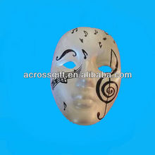 hand painted ceramic mask