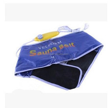 Comfy Blue Healthy Electric Sauna Slimming Belt Quick Body Slimming Massage Waist Weight Loss Belt