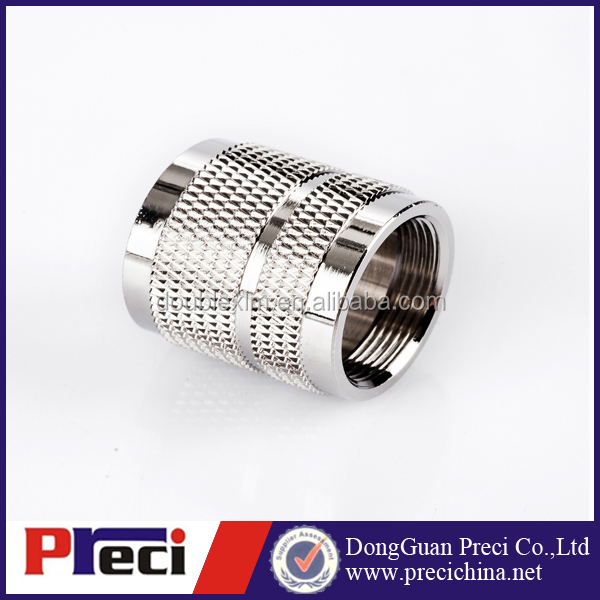 Joint connector knurling Nut