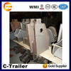 heavy duty truck trailer suspension front hanger for semi truck