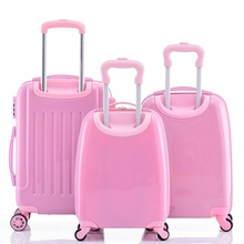 Fashion style cabin size children luggage trolley luggage bag