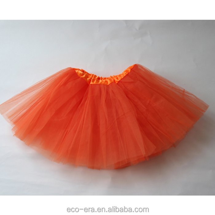 Stock Lot 100% Polyester Ballet Tutu Solid Color