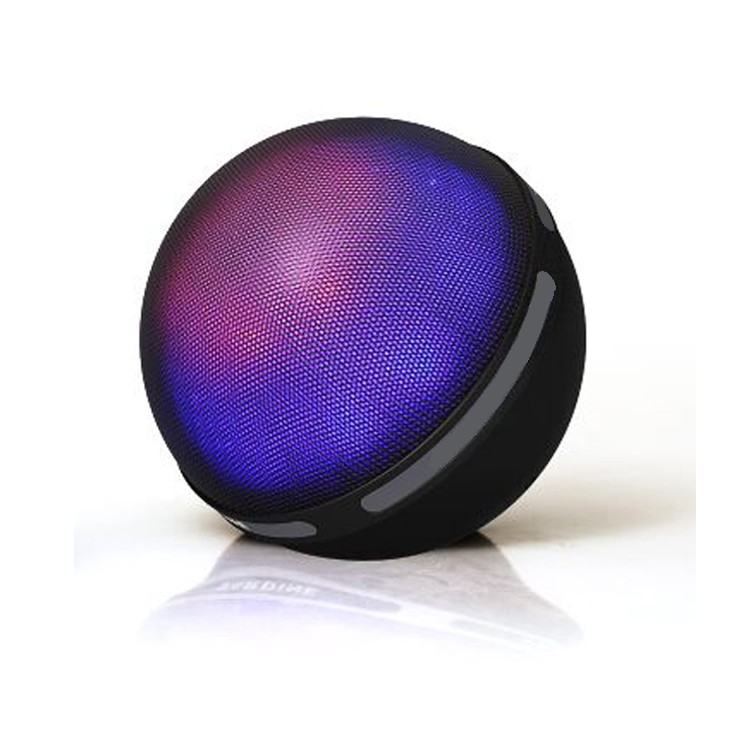 Hot mini ball shape wireless bluetooth speaker with colorful LED light