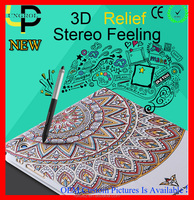 New stereo printing fancy cover for ipad