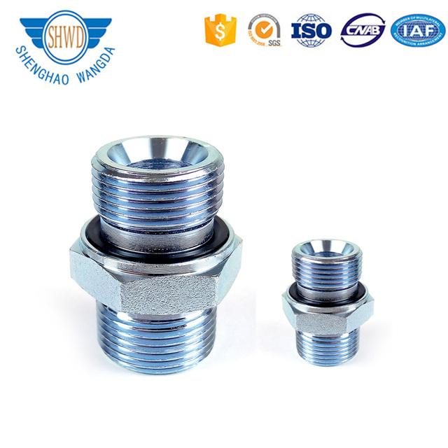 Eaton Standard 1CM/1DM-WD Metric Male Thread Straight Pipe Fittings Hydraulic Adapter