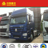 SINOTRUK brand Optional color(yellow, red) LHD driving type tractor truck