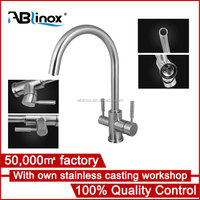 Best choice stainless steel faucet factory with own casting