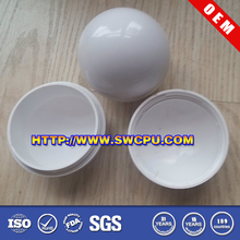 Hard colorful hollow two part 3 inches plastic ball