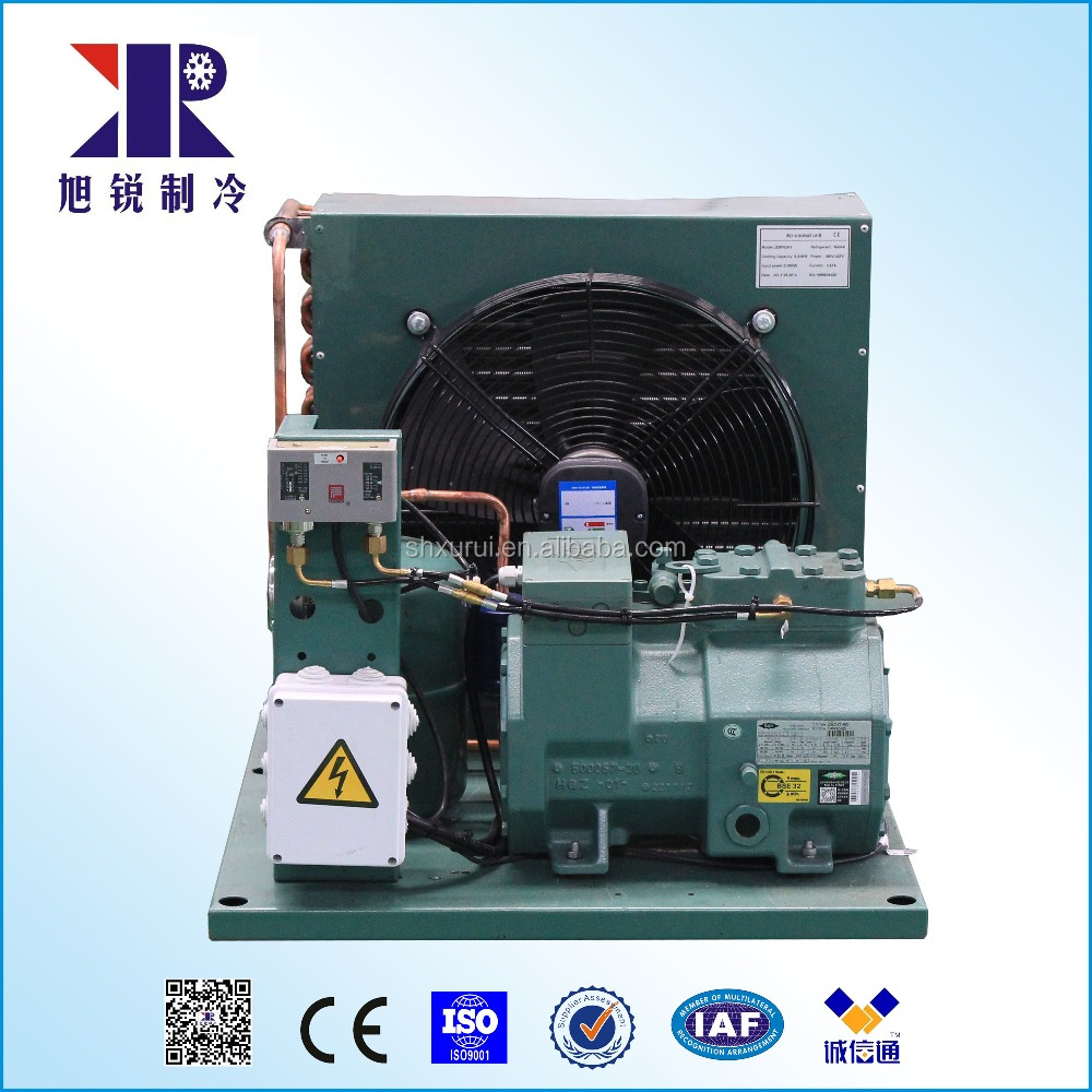 Air -cooled unit with Bitzer compressor 4hp CE certificate