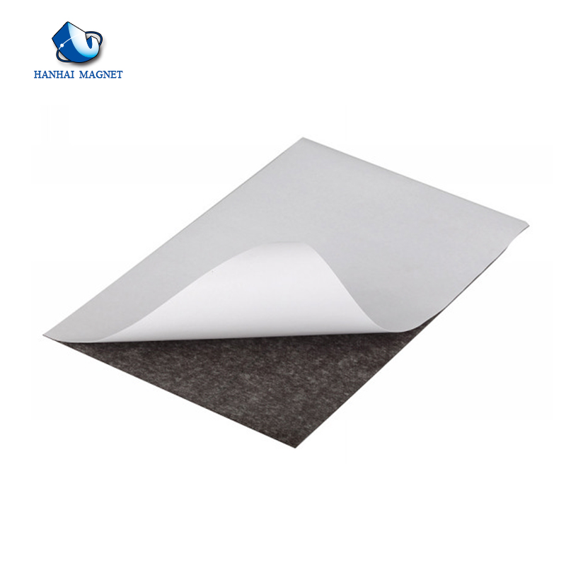 Wholesale Self Adhesive Flexible Rubber Coated Magnet