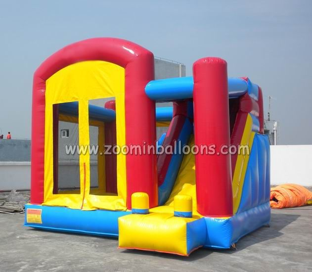 New designed inflatable bouncy castle with water slide/inflatable bounce house Z2082