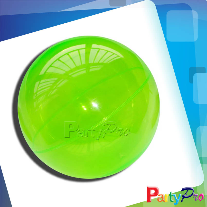 2014 Hot Sale Green Playground Bouncing Balls Children Hollow Rubber High Bouncing Ball