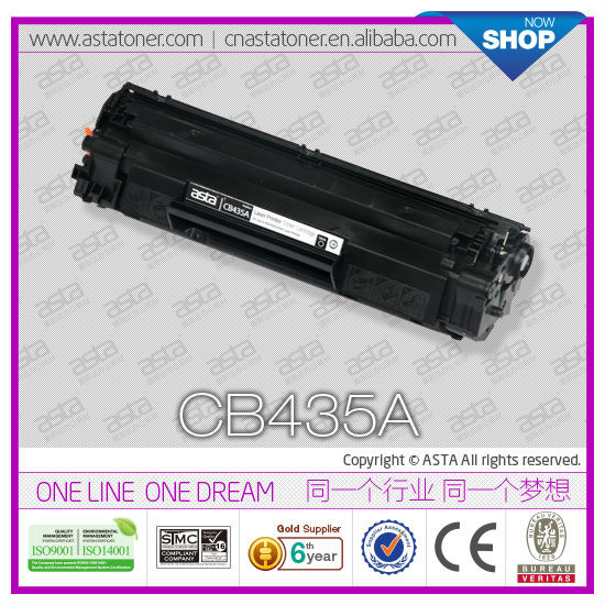 factory price for hp CB435a 436a toner cartridge for hp original quality 435a 35a cb435a best price toner cartridge for hp